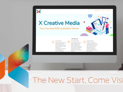 X Creative Media Launches New Website.